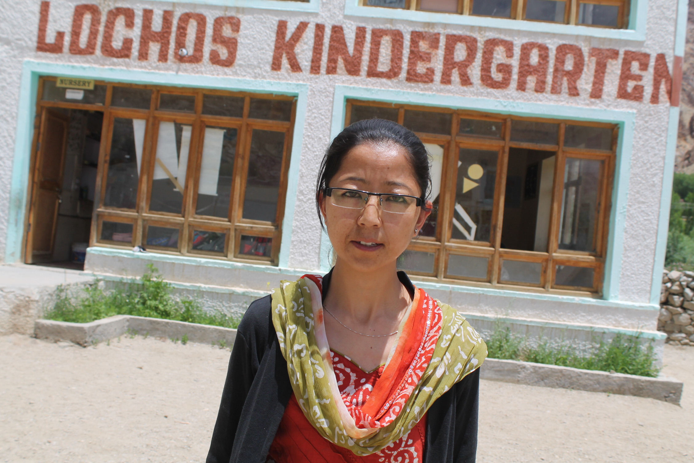 Konchok Dolker - Math & English Teacher