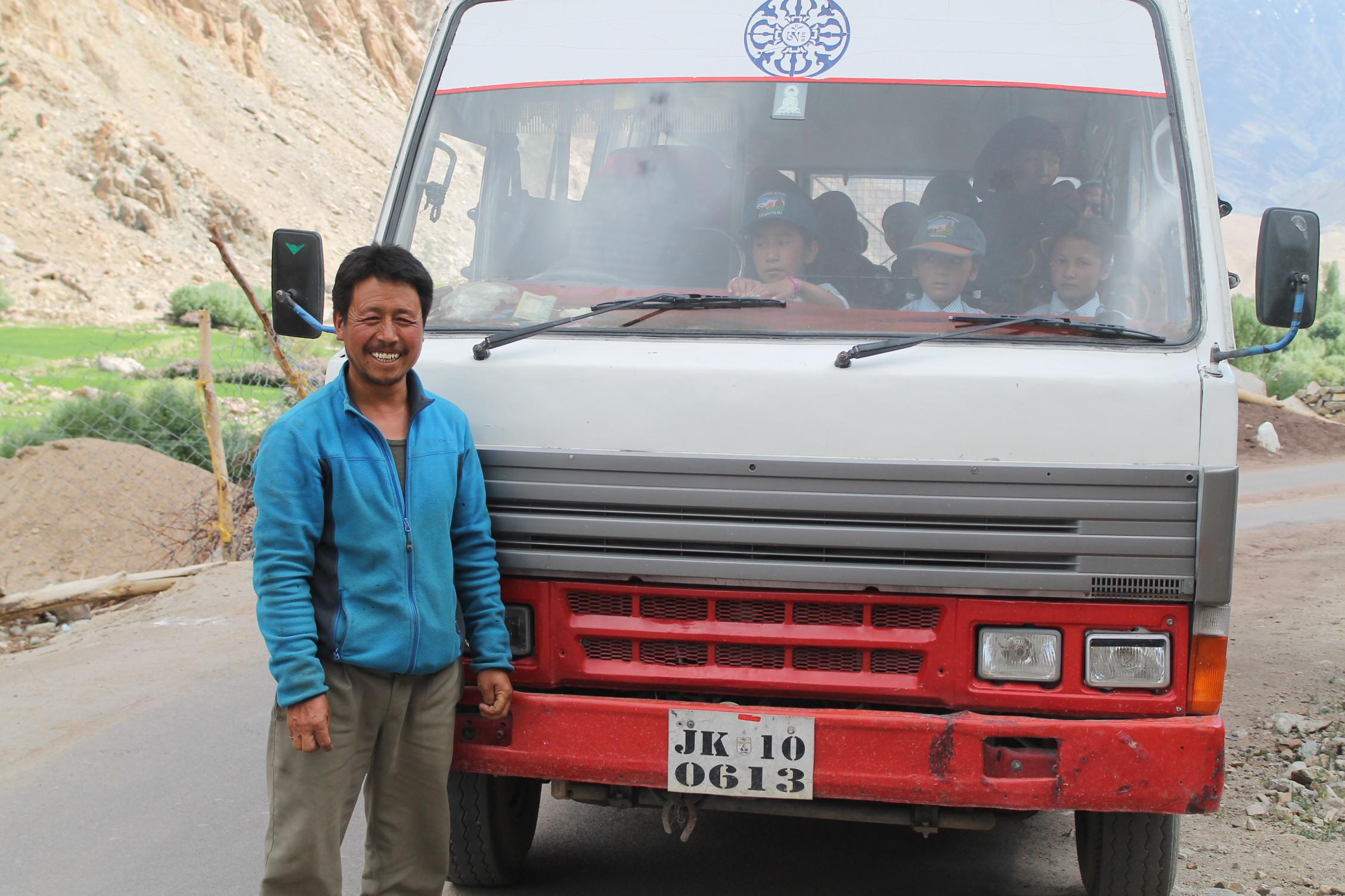 Tsewang Punchok - Bus driver